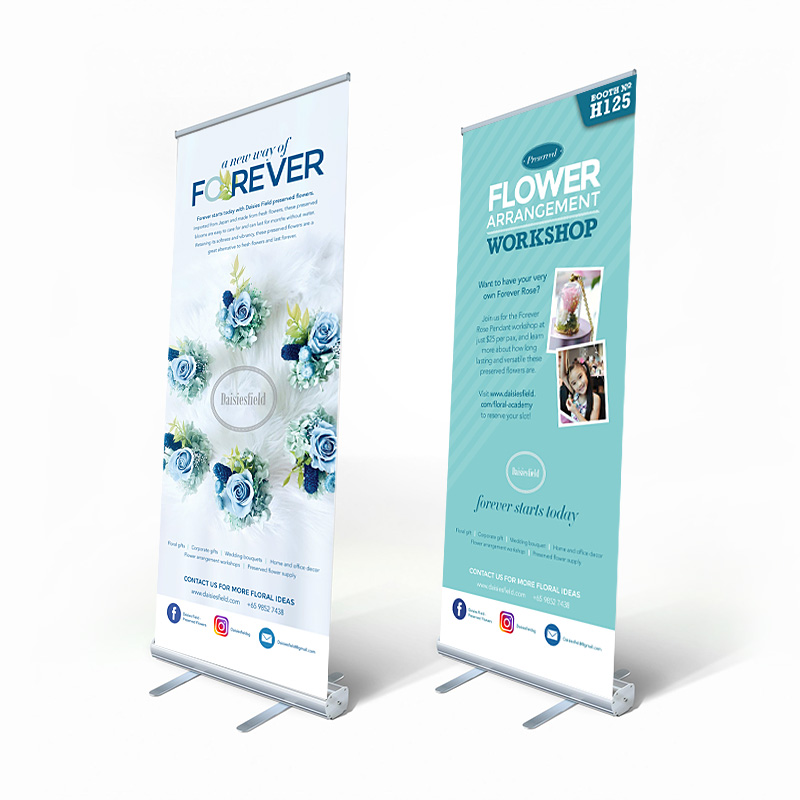 Daisiesfield Sales Event Roller Banner