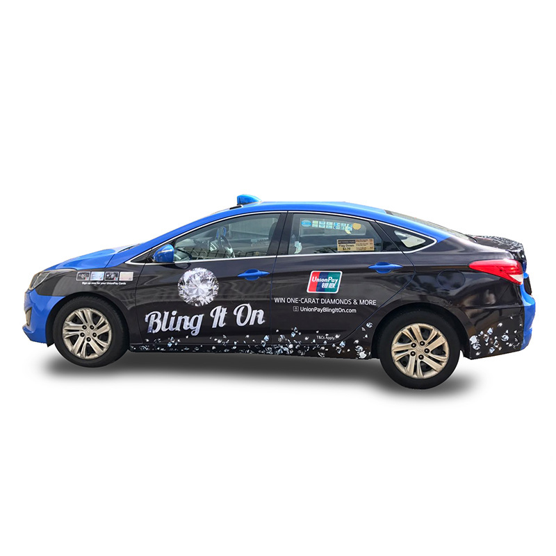 UnionPay BlingItOn Taxi Visual